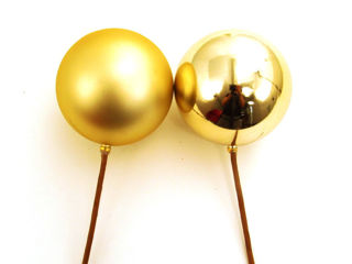 Picture of Ornament Ball 60Mm Gold Gloss/Matte