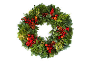 """Picture of Royal Fruit 24"""" Wreath"""