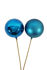 Picture of Ornament Ball 80Mm Blue Gloss/Matte