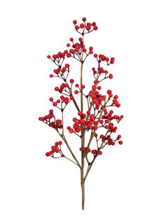 """Picture of Winterberry Stem Red Artificial 30"""""""